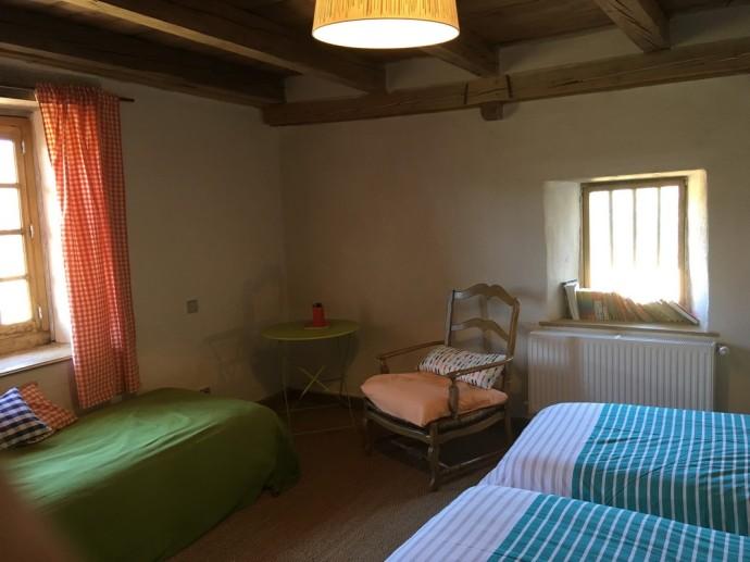 Chambre Savinien du gîte de Fougères-en-Beaujolais (2)