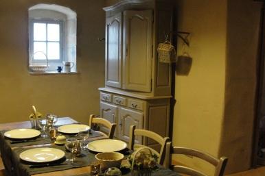 Cuisine du gîte de Fougères-en-Beaujolais